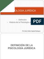 Historia y Conceptualizaccion de La Psicologia Juridica1
