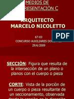 Cortes y Secciones - Nicoletto