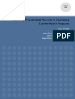 WDI _ Improving Procurement Practice in Developing Country Health Programs_Final Report