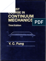 [a First Course in Continuum Mechanics] [YC. Fung]