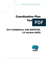 6002 Coordination Plan Template