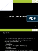 IFRS Seminar Loan Loss Provisioning