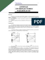 Antenas Con Reflectores Parabolicos