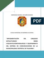 Proyecto Cableado Estructuraado ARI
