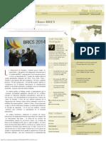 Geopolítica Del Banco BRICS, Por Ariel Noyola Rodríguez