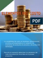 2.3 Elementos Del Costo