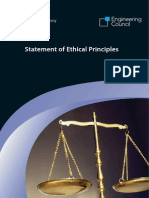Statement of Ethical Principles