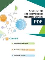 Chapter 19ESV S2.1314 - The International Monetary System
