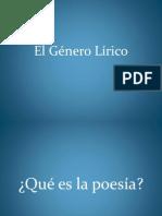 ppt género lírico