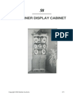 Corner Display Cabinet