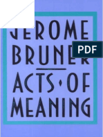 Jerome Bruner Acts of Meaning