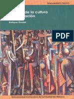 Filosofía de La Cultura y La Liberación de Enrique Dussel