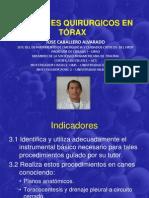 3.-Abordajes Quirurgicos en Torax