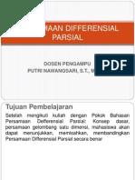 PERSAMAAN DIFFERENSIAL PARSIAL