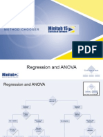 Chooser Regression and Anova
