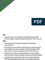 Presentasi Pusat SDM Kemetrologian