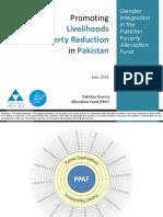 6 June EFG2014_SKRahat Gender Integration in Pakistan's Poverty Alleviation Fund