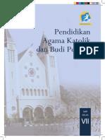 pendidikan agama Katolik dan Budi Pekerti, Buku Siswa,Kelas 7