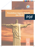 Pendidikan Agama Katolik dan Budi Pekerti, Buku Guru, SMA Kelas 10