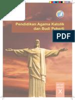 Pendidikan Agama Katolik dan Budi Pekerti, Buku Siswa, SMA Kelas 10