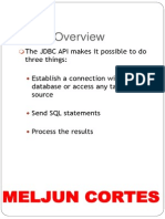MELJUN CORTES Web Application and Database