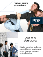 Conflicto, Conciliación y Mediación