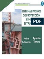 Sistemas Pasivos de Protección Sísmica-Echeverría