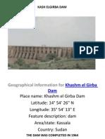 Khashm Elgirba Power Station
