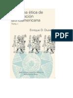 Para una ética de la Liberación Latinoamericana Tomo I de Enrique Dussel