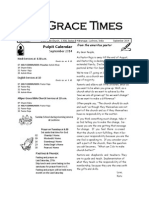 Grace Times 2014.09
