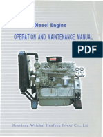 Huafengdongli 495 4100 Series Operationmanual