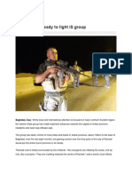 Iraq's Sunnis Ready to Fight is Group