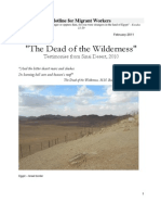 """The Dead of the Wilderness"""