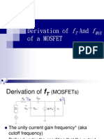 derivation of ft