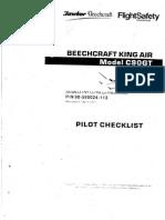 King AIR C90GT Pilot Checklist