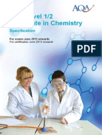 Aqa Science Igcse Chem w Sp