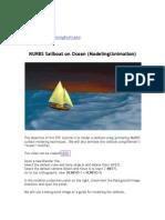 NURBS_Sailboat on Ocean