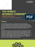 Mobile Internet Consumer Argentina