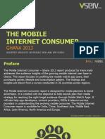 Mobile Internet Consumer Ghana