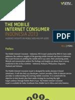Mobile Internet Consumer Indonesia