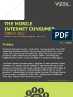 Mobile Internet Consumer Jordan