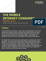 Mobile Internet Consumer Mexico