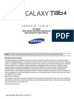 GEN SM-T530NU Galaxy Tab 4 KK English User Manual NC4 F4