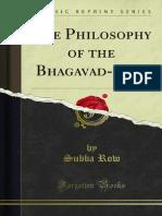 The Philosophy of the Bhagavad-Gita 1000002800