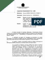 Parecer DNPM negando desoneração de área minerária para implantar gasoduto.pdf