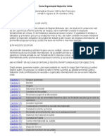 Carta Organizatiei Natiunilor Unite(1)