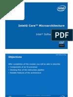 Intel Processor Architecture-Core