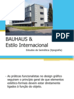 Bauhaus Tipografia