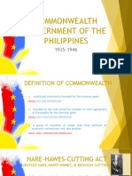 COMMONWEALTH GOVERNMENT OF THE PHILIPPINES