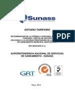 Estudio Tarifario EPS Mantaro S.a.